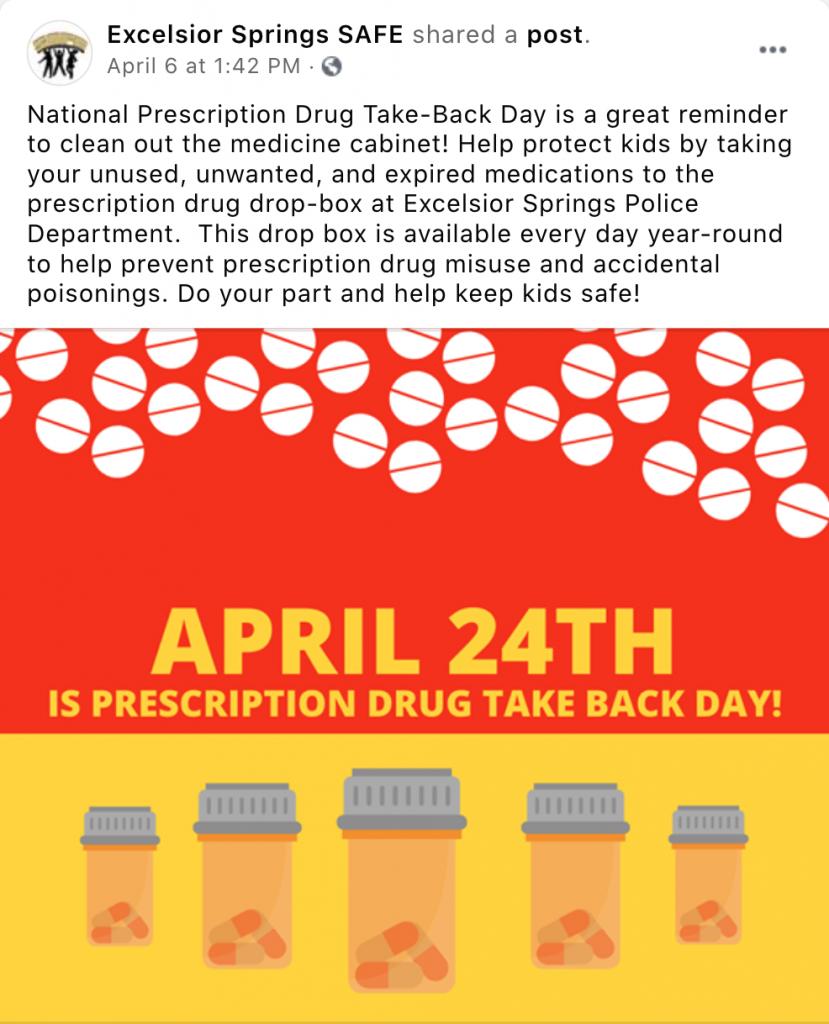 Drug Take Back Day